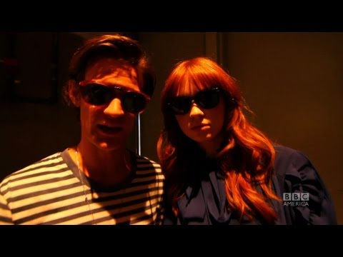 San Diego Comic-Con 2011: Doctor Who: Matt & Karen's Surprise Visit to BBCA Booth
