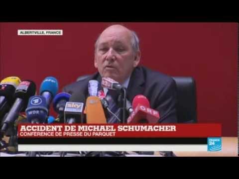 Accident de Michael Schumacher : la conférence de presse complète du procureur d'Albertville