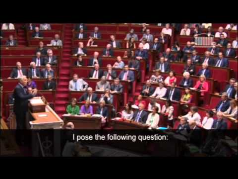 France's National Assembly has met to discuss possible