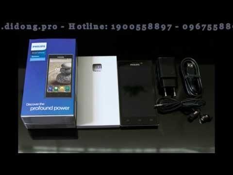 Điện thoại Philips V787 chính hãng - smartphone pin khủng 5000 mAh - cấu hình cao giá tốt