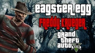 GTA V Easter Egg Freddy Krueger (secreto)