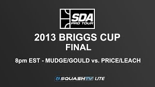 SQUASH (Hardball Doubles) : SDA 2013 Briggs Cup FINAL