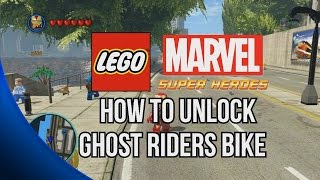 How To Unlock Ghost Rider's Motorcycle LEGO Marvel Super