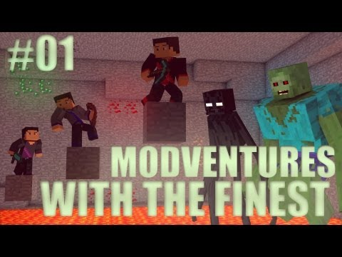 Minecraft: Modventure with the Finest - Ep. 1 - Cyclops Slayers!