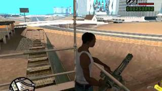 Donde Encontrar La MINIGUN En GTA San Andreas PC.
