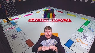 Giant Monopoly Game With Real Money