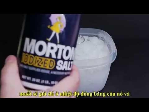 Cách làm nước siêu lạnh - Supercooled Water