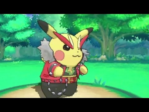 Pokemon Omega Ruby and Alpha Sapphire - More Mega Evolutions and Pikachu Cosplay Trailer