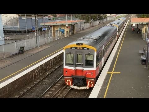 V/Line and Metro Trains Melbourne - Country and Suburban Passenger Trains in Australia Part 2