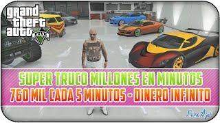 GTA 5 ONLINE 1.11 SUPER TRUCO DINERO INFINITO 760 MIL