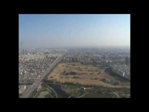 A 360° View of Shijiazhuang, Hebei China in 2006 石家庄