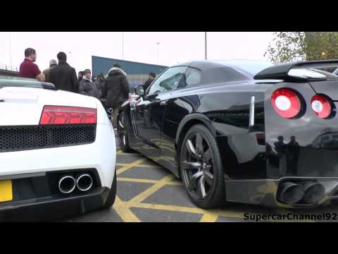 Supercar Meet - Mclaren Edition SLR, LOUD R8's, Modified GTR's!!