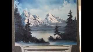 Paint With Kevin Hill Frozen Mountain