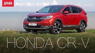 Honda CR-V тест-драйв с Никитой Гудковым. Видео Тесты Драйв Ру.