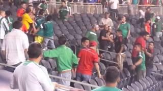 Mexico Vs Bosnia Pelea 06-03-2014