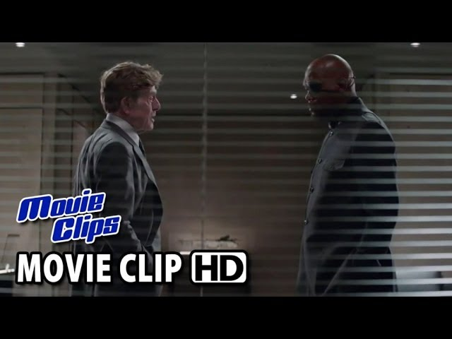 Captain America: The Winter Soldier CLIP - Here To Ask A Favor (2014) HD