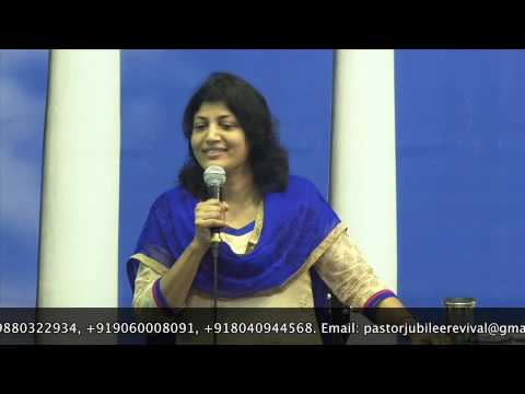 4-6-14 Bible Study on Sanctification by Pastor Pramila Jeyaraj