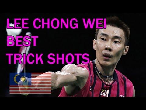 LEE CHONG WEI BEST TRICK SHOTS Badminton 2016