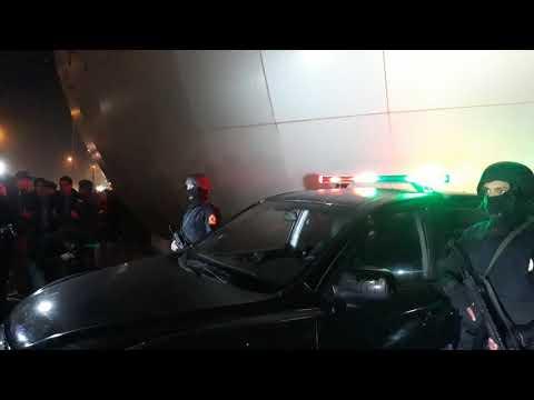 شاهد مباشرة ما يحدث أمام موروكو مول بمناسبة رأس السنة الميلادية الجديدة