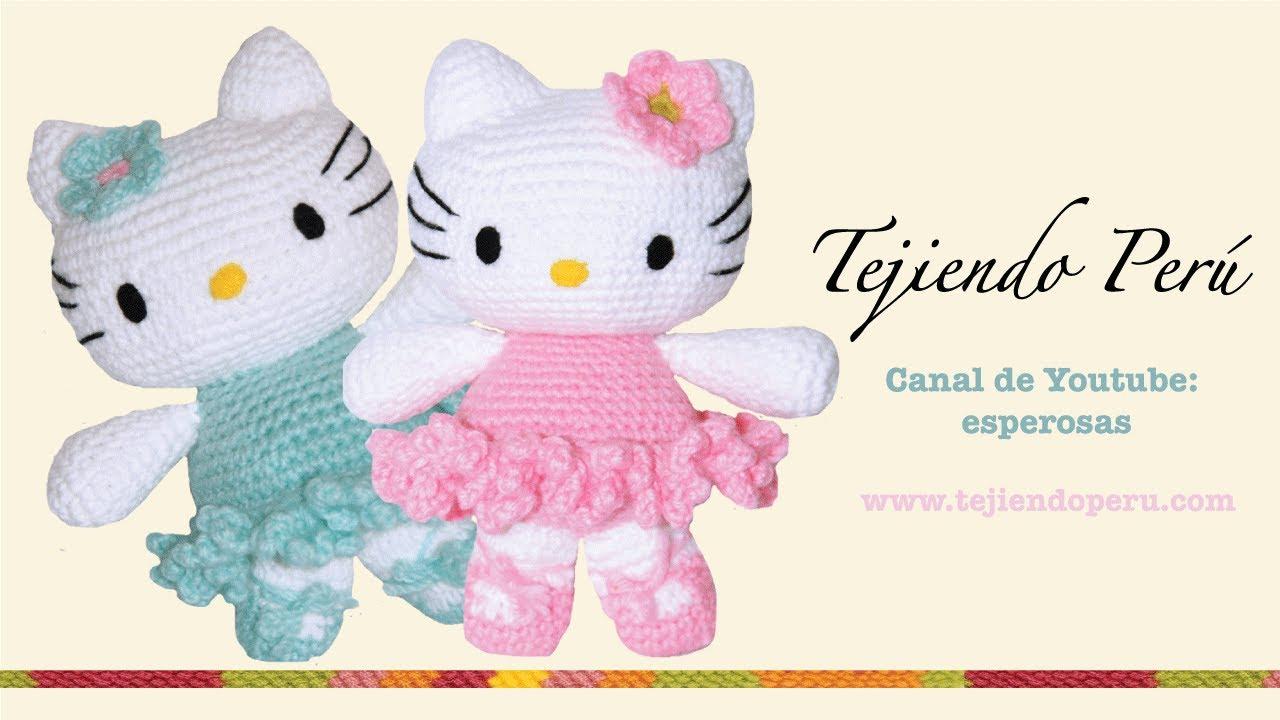 Hello Kitty Amigurumi Modelleri : Hello Kitty tejida a crochet (amigurumi) Parte 7: acabados ...