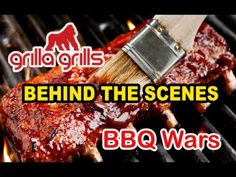 Behind The Scenes - Grilla Grills BBQ Wars Tour