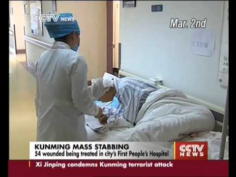Hospital updates victims condition in the Kunming attack