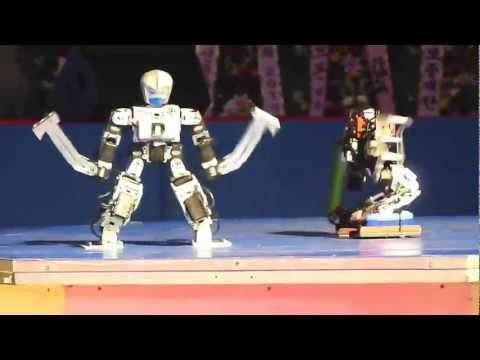 Драки роботов на фестивале в Корее - drakoff.ru
