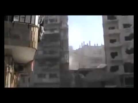 Assad Punks Kofi Annan pt3   Bombs Homs City on Truce Day 10 April 12