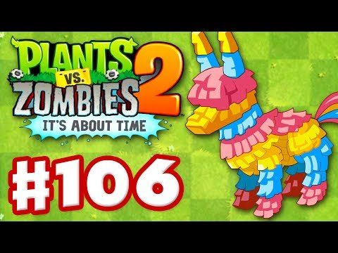Plants vs. Zombies 2: It's About Time - Gameplay Walkthrough Part 106 - Piñata Party (iOS)