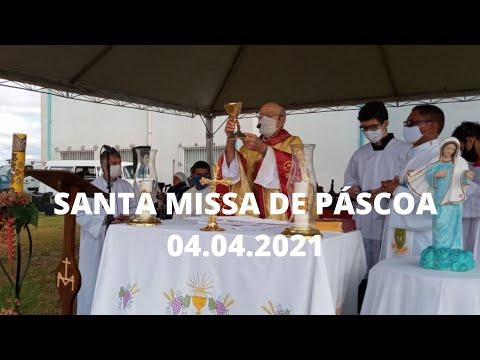 Santa Missa de Páscoa | 04.04.2021 | Padre José Sometti | ANSPAZ