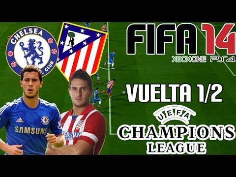 FIFA 14 || UEFA Champions League || Chelsea vs Atlético de Madrid (1/2; Vuelta) HD