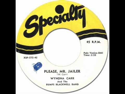 Thumbnail of video Wynona Carr with Bumps Blackwell Band- Please, Mr. Jailer [Specialty #575] 1956
