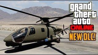 GTA 5 Online DLC Secret Attack Helicopter HUNTER (Grand