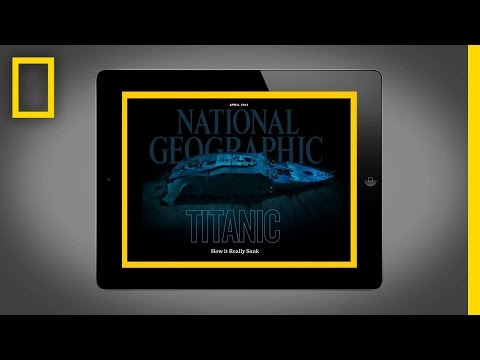 National Geographic Magazine on iPad - April 2012