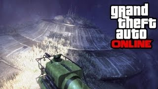 GTA 5 Online Crashed UFO Easter Egg! (Grand Theft Auto