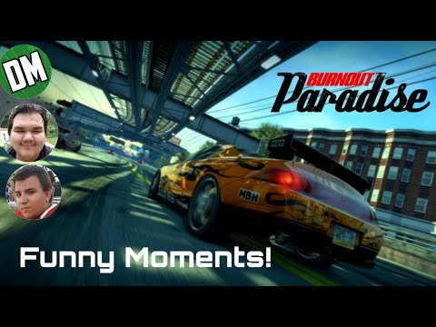 Highway Racing! (Burnout Paradise Funny Moments #1) ft. Jesse and Chase