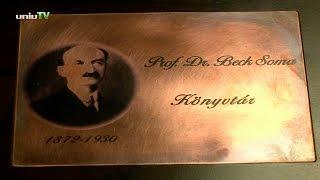 A PTE ÁOK Beck Soma Könyvtárának névtáblaavató ünnepsége