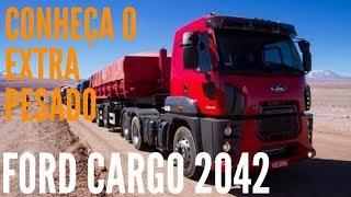Ford Cargo 2042 2014 Extra Pesado Apresentação