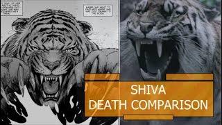 Shiva Death Comparison - The Walking Dead TV Show VS Comic (Season 8 Episode 4)