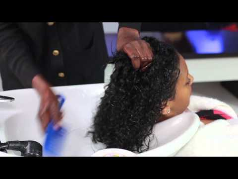 Silicon Mix Bambu on treated African Hair