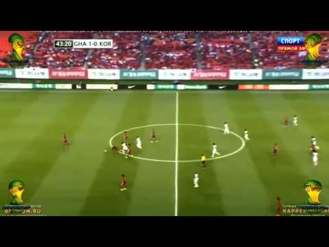 Ghana vs South Korea 4-0 ( 가나 4 - 0의 한국 ) All Goals And Highlights HD 2014