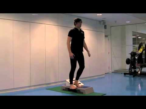Running Knee Pain Exercise - Wedge Step Up (20cm) - VMO Strengthening ...
