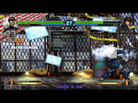 KOF XIII: Maxima combo tutorial - Maxima The Armored Trooper.