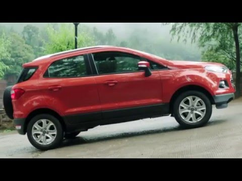 Chức năng khởi hành ngang dốc của Ford Ecosport
