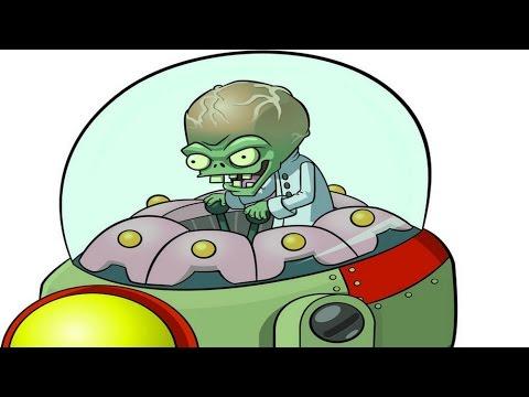 Plants vs. Zombies 2 - How to Kill Dr. Zomboss in Far Future - Day 25 BOSS Fight Walkthrough