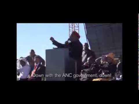 'Lonmin, ANC government killed our people' -- Malema