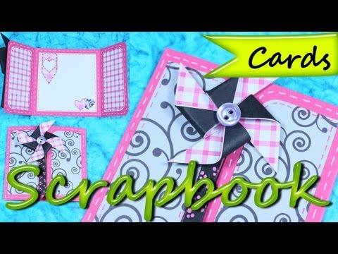 Tarjetas de Cumpleaños *Birthday Greeting Cards* Tarjetas Felicitaciones * DIY Scrap Pintura Facil