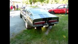Ford Mustang 1967 Shelby GT 500 Eleanor Exhaust Sound
