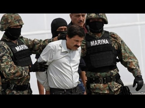 Mexico's top drug lord Joaquin 'Shorty' Guzman arrested