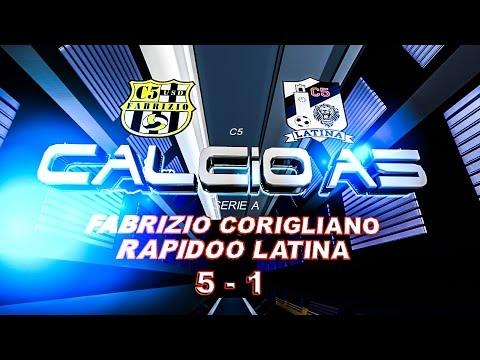 Serie A, F. Corigliano - Rapidoo Latina 5-1(16/11/14)